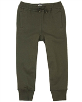 Art and Eden Boy's Basic Sweatpants in Olive