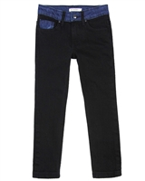 Billybandit Slim Fit Denim Pants in Black