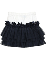 Blu by Blu Tiered Skirt Bling Bling