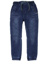 Boboli Boys Denim Pants with Elastic Cuffs