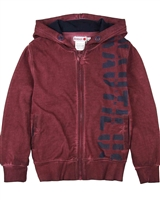 Boboli Boys Hooded Sweatshirt with Washed Effect