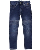 Boboli Boys Denim Pants with Stitched Knees