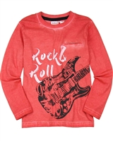 Boboli Boys T-shirt with Guitar Print