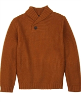 Boboli Boys Shawl Collar Pullover