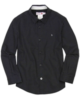 Boboli Boys Dress Shirt in Small Dot