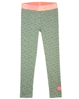 B.Nosy Printed Leggings in Olive