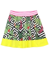 B.Nosy Skirt in Tropical Print