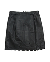 Creamie Girls Pleather Skirt Signe