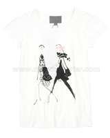 Creamie Girls T-shirt Bridget White