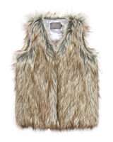Creamie Girls Faux Fur Vest Eileena