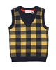 Deux par Deux Plaid Vest  Off Road