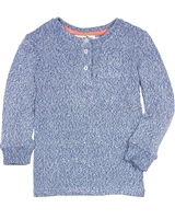 Deux par Deux Knit T-shirt Le Grand Bleu