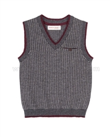 Deux par Deux Knit Vest Suit up