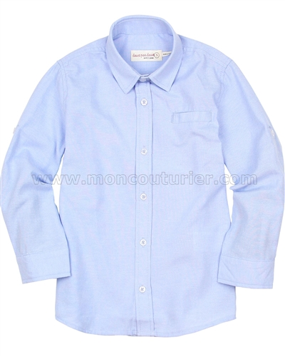 Deux par Deux Basic Blue Shirt Suit up