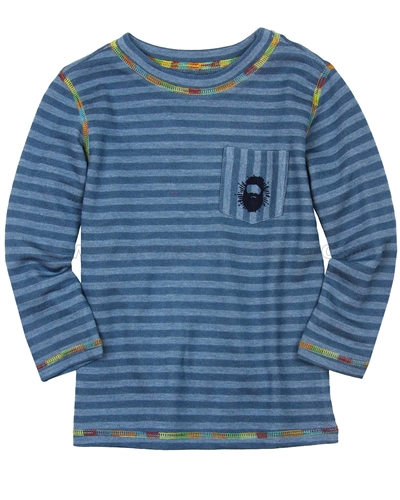 Deux par Deux Striped T-shirt Whistle Punk
