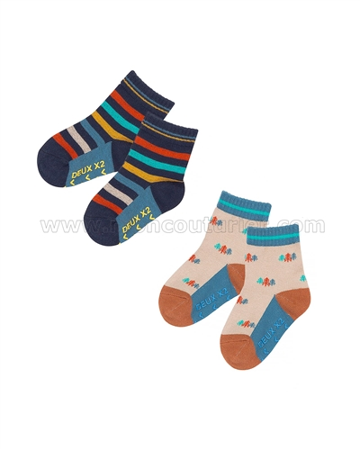 Deux par Deux Socks Whistle Punk