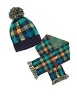 Deux par Deux Hat and Scarf  Whistle Punk