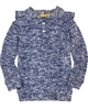 Deux par Deux Blue Hooded Sweatshirt Hey, Buffalo Hill