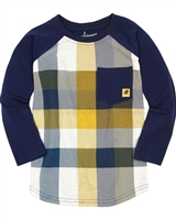 Deux par Deux Plaid T-shirt Hey, Buffalo Hill