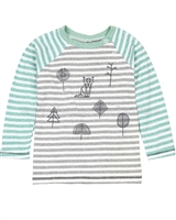 Deux par Deux Striped T-shirt Soft Eyes