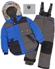 Deux par Deux Boys' 2-Piece Snowsuit Since 1986 Charcoal