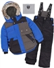 Deux par Deux Boys' 2-Piece Snowsuit Since 1986 Anthracite