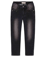 Deux par Deux Boys Black Denim Pants Foodies Alert