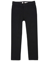 Deux par Deux Boys Black Woolen Pants Night King