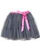 Deux par Deux Gray Tulle Skirt Poppy Love