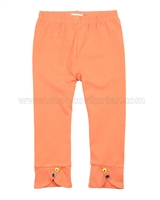 Deux par Deux Leggings Orange  Apples Meet Pears
