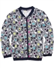 Deux par Deux Printed Jacket Navy  Toucan Do It