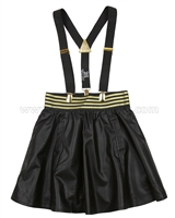 Deux par Deux Skirt with Suspenders Chat Cha Cha