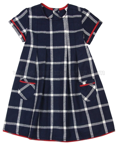 Deux par Deux Plaid Dress Class Act