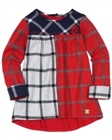 Deux par Deux Plaid Tunic Class Act