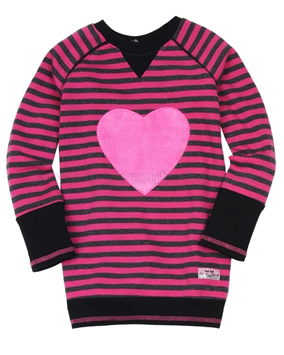 Deux par Deux Striped Sweatshirt an Eye on Fashion