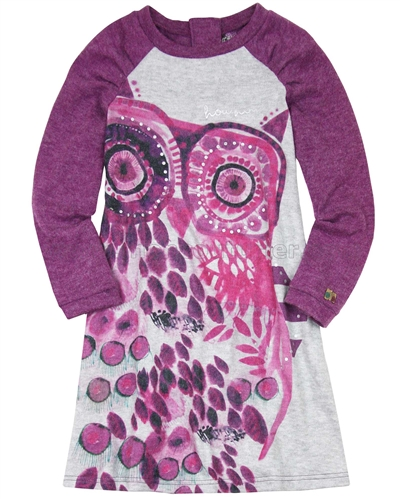 Deux par Deux Dress with Owl Be Hoo You Are