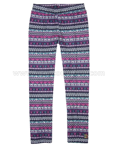 Deux par Deux Printed Leggings Be Hoo You Are