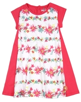 Deux par Deux Jersey Dress Flamingo Edit