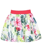 Deux par Deux Skirt Flamingo Edit