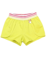 Deux par Deux Yellow Shorts Flamingo Edit