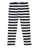 Deux par Deux Striped Leggings So Safari