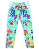 Deux par Deux Summer Pants Cold Press Fashion