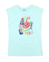 Deux par Deux Aqua T-shirt Cold Press Fashion