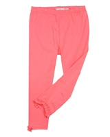 Deux par Deux Coral Capri Leggings Cold Press Fashion