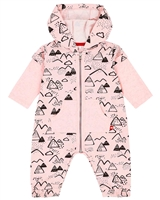 Deux par Deux Baby Girls' Printed Playsuit Between Heaven and Earth