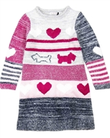 Deux par Deux Knit Dress Preppy Chic