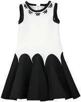 Deux par Deux Two Colour-way Scuba Dress Night Queen