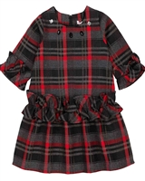 Deux par Deux Tartan Dress Night Queen