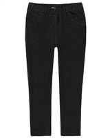 Deux par Deux Basic Jeggings in Black