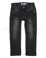 Deux par Deux Basic Denim Pants Black